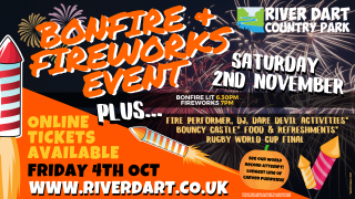 Bonfire and Fireworks Event Cover