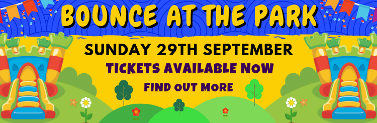 Bounce at the Park Web banner