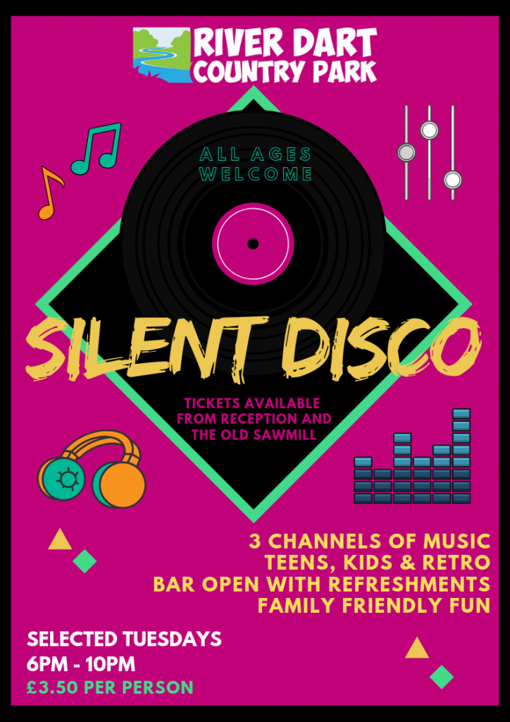 Silent Disco at River Dart Country Park