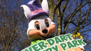 Easter Banner at River Dart Country Park